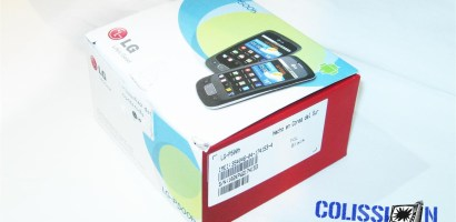Unboxing LG P500h (Optimus One)