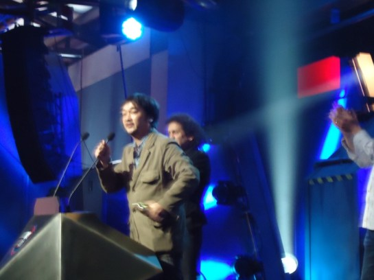 """MTV video games awards Mexico City Shingo """"Seabass"""" Takatsura"""