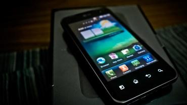 Unboxing LG Optimus 2x P990h