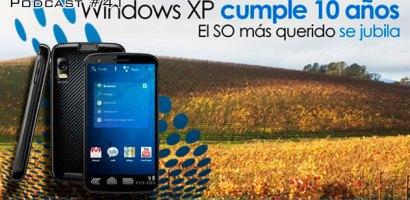 """Webnblog Podcast #41 """"Android 4.0 y 10 años de Windows XP"""""""