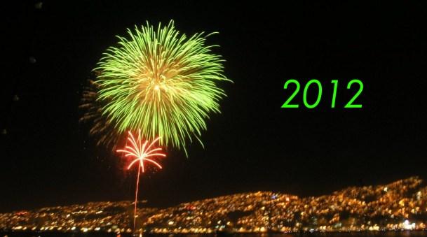 Año nuevo Valparaiso Chile