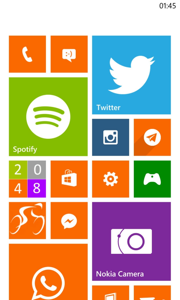 Windows Phone 8 Home