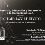 Servicio Educación y Desarrollo a la Comunidad, I.A.P. (SEDAC) presenta  a la Big Band Jazz de México en un concierto para beneficencia
