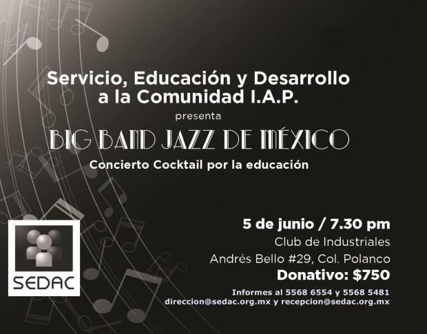 Big Band Jazz Mexico SEDAC