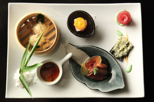 "A dish from chef Niki Nakayama in Netflix's ""Chef's Table."" Photo credit: Beth Dubber for Netflix"