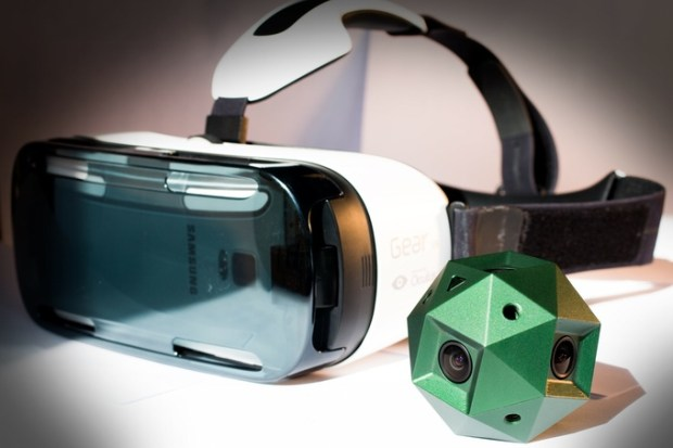 VR sphericam