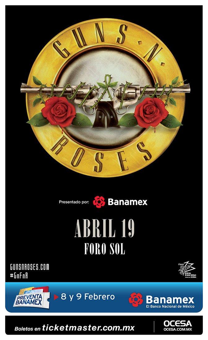 Guns N' Roses en México 2016