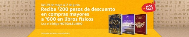 Amazon Hot Sale Libros