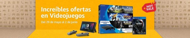 Amazon Hot Sale Videojuegos