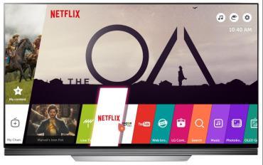 Tres meses de Netflix Premium de regalo en la compra de un TV LG 4K