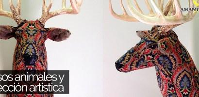 Falsos animales y su disección artística hecha por Kelly Rene Jelinek