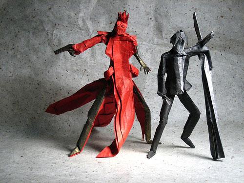 Vashwolfwood Trigun de Origami
