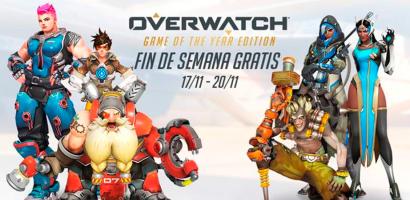Blizzard anuncia un fin de semana de juego gratis en Overwatch