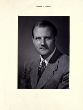 Portrait photo of Warren Howell