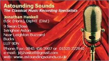 astounding sounds