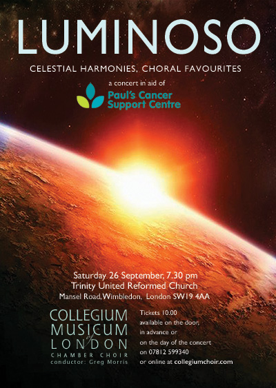 CML's autumn LUMINOSO