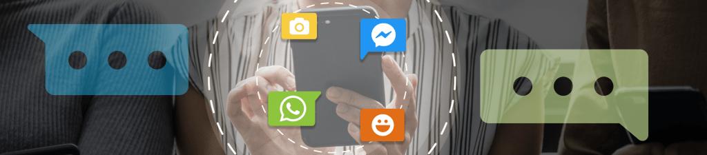 Facebook, WhatsApp, OneContact
