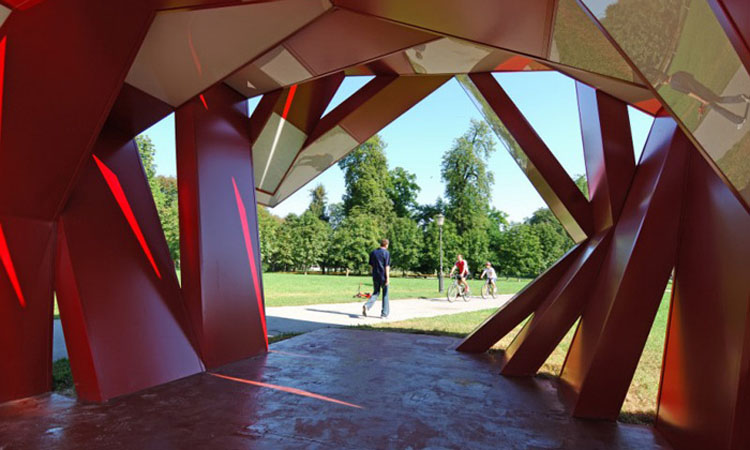 Tivoli Park Sculpture Rok Grdisa  CollabCubed