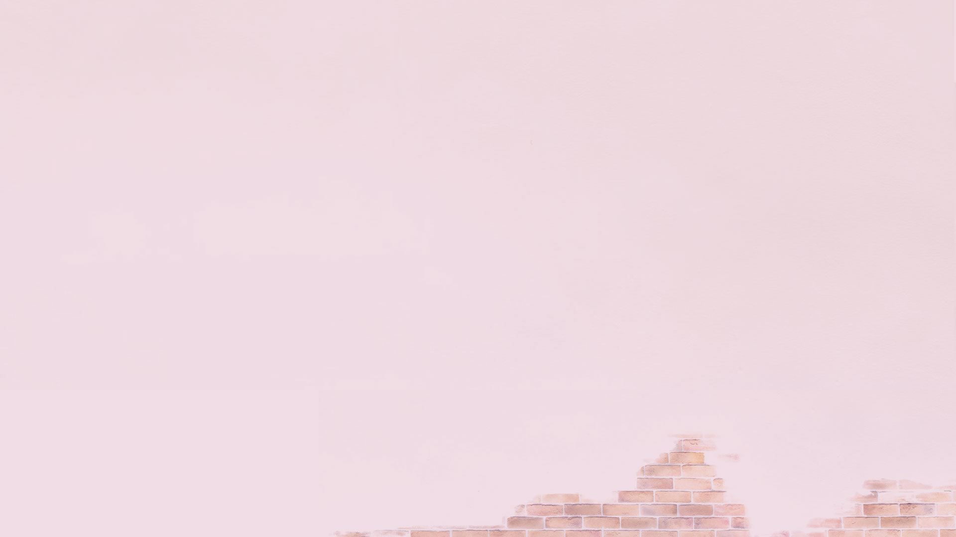 Pink Brick Background