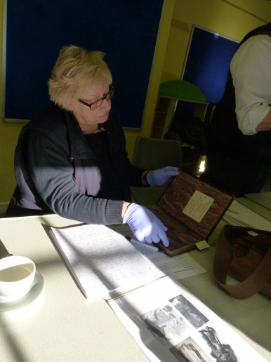 Looking closely at the Mitford and Launditch workhouse bible - presented on the occasion of the opening of the Chapel.