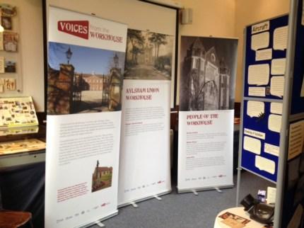 Aylsham Workhouse pop up exhibition