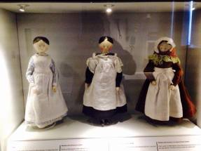 Our workhouse dolls in the collection in their new display