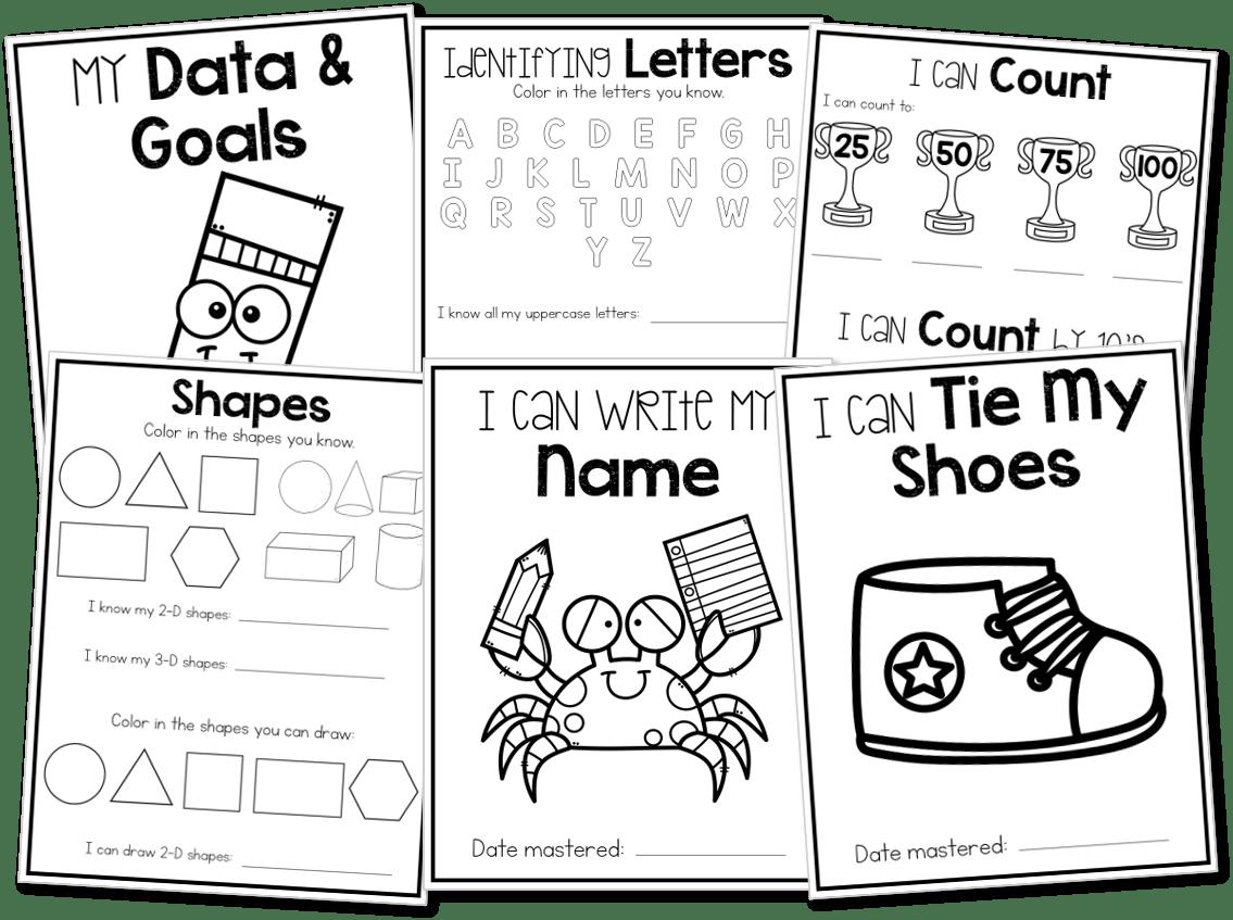 Kindergarten Portfolios and Memory Books