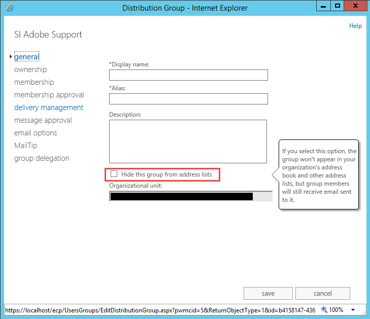 how to create a group distribution list in outlook 2013