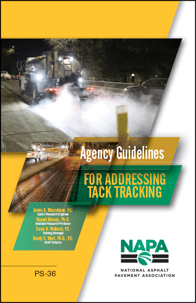 NAPA Agency Guidelines Addressing Tack Tracking