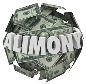 alimony and tax change
