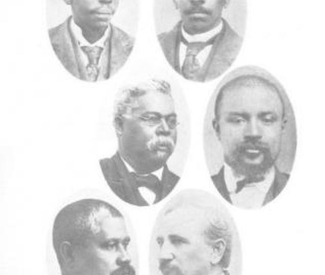 The Black Delegates To The 1895 South Carolina State Constitutional Convention