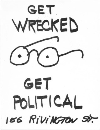 Bobby G with Alan Granville and Jon Keller Get Wrecked, Get Political, 1980