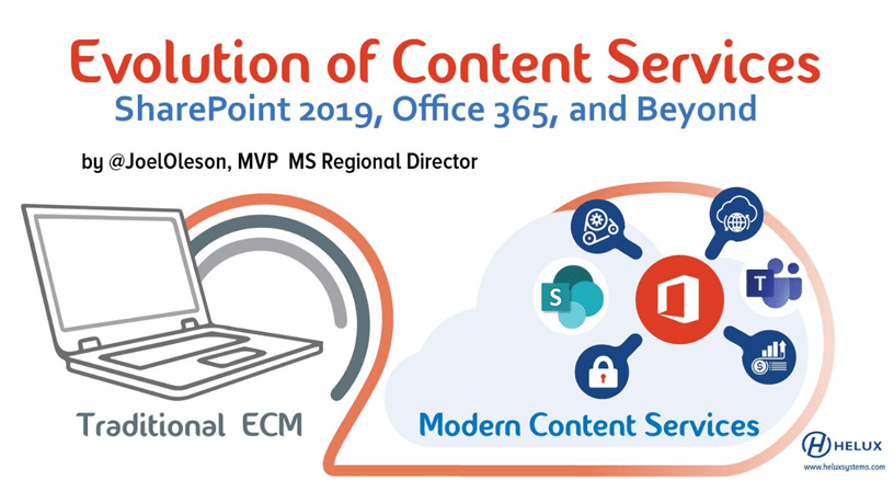 Evolution of ECM with Microsoft Modern Content Services