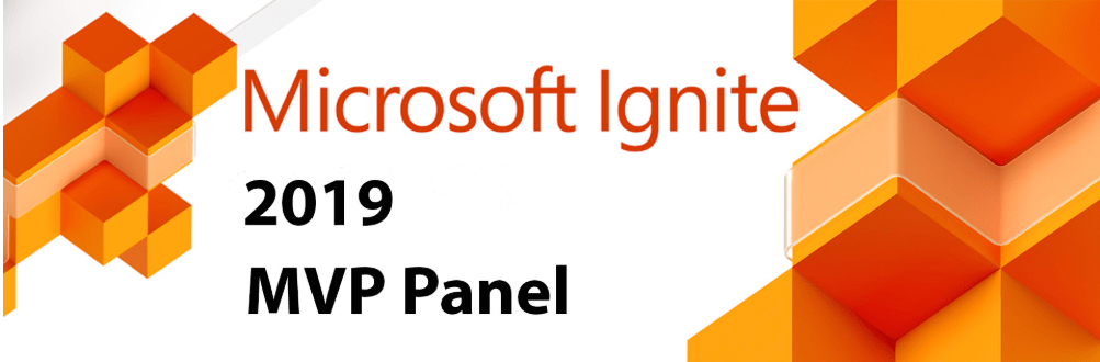 Post Microsoft Ignite MVP Panel