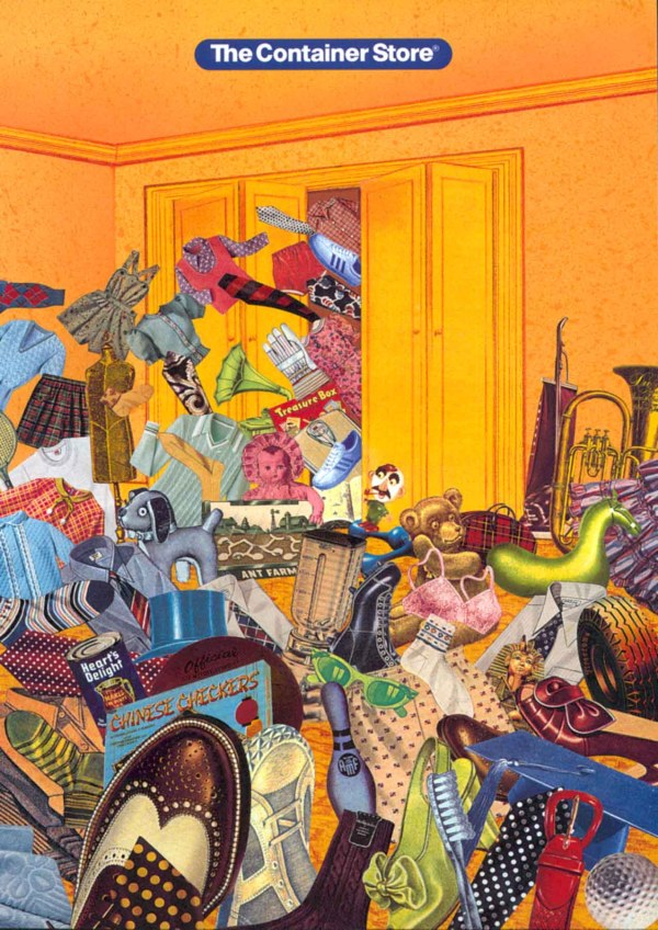 Melissa Grimes Collage Illustration