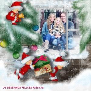 Collages de Navidad para hacer con mis fotos