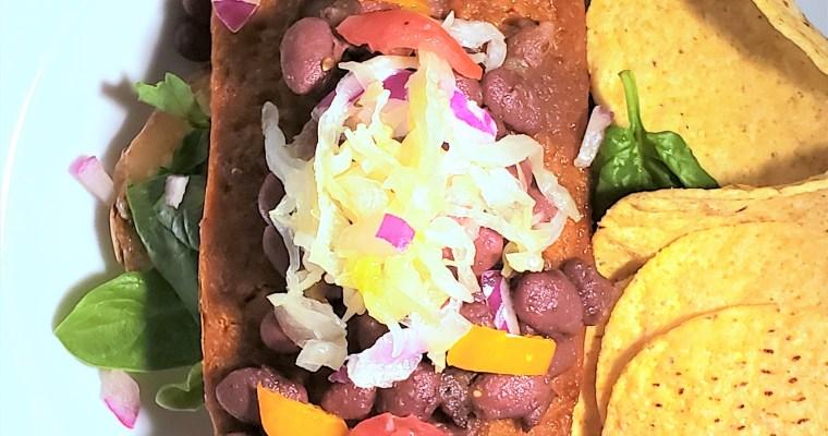 Veggie Chili Cheese Dog