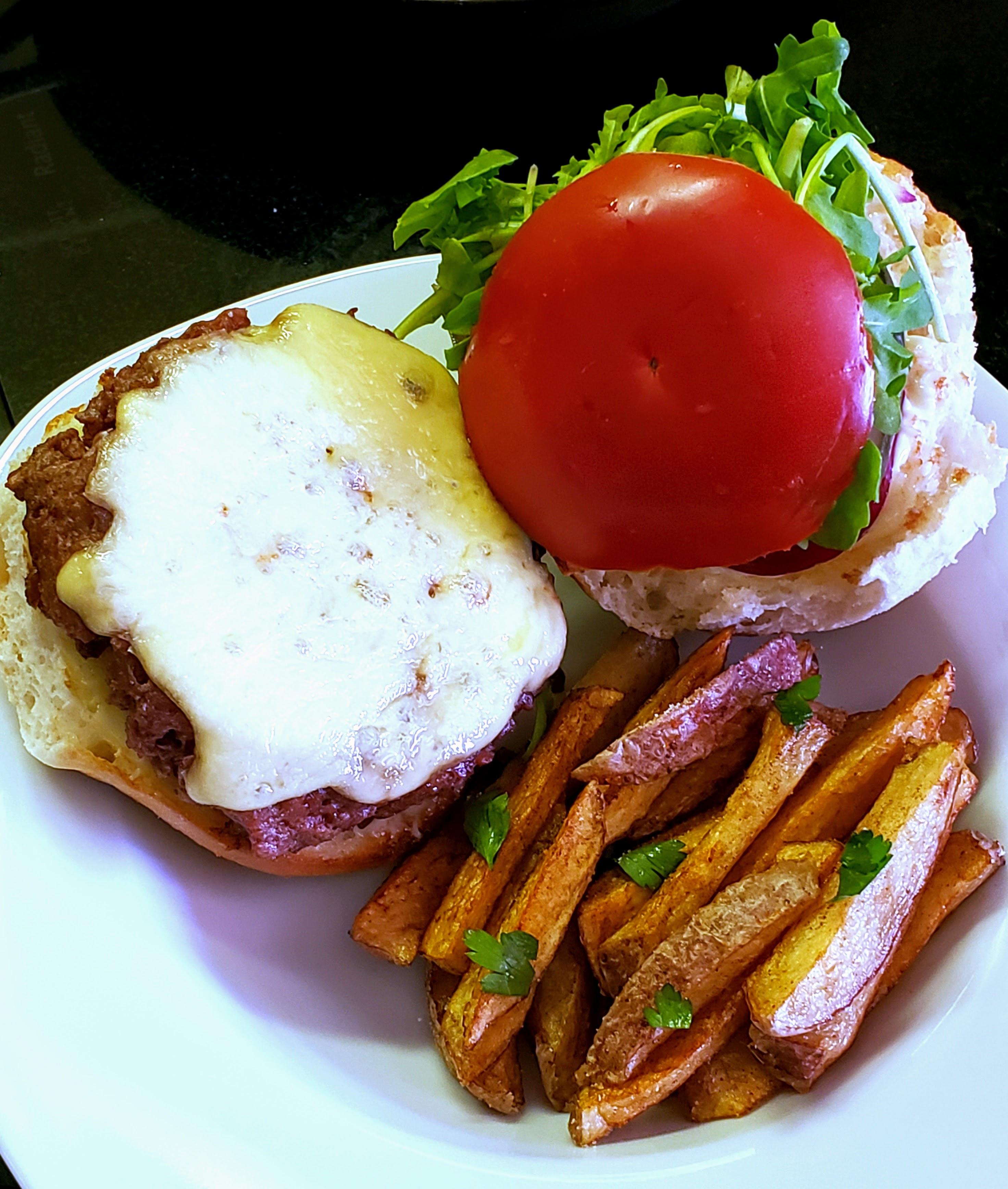 The Best Veggie Burger Recipe: Euro Style