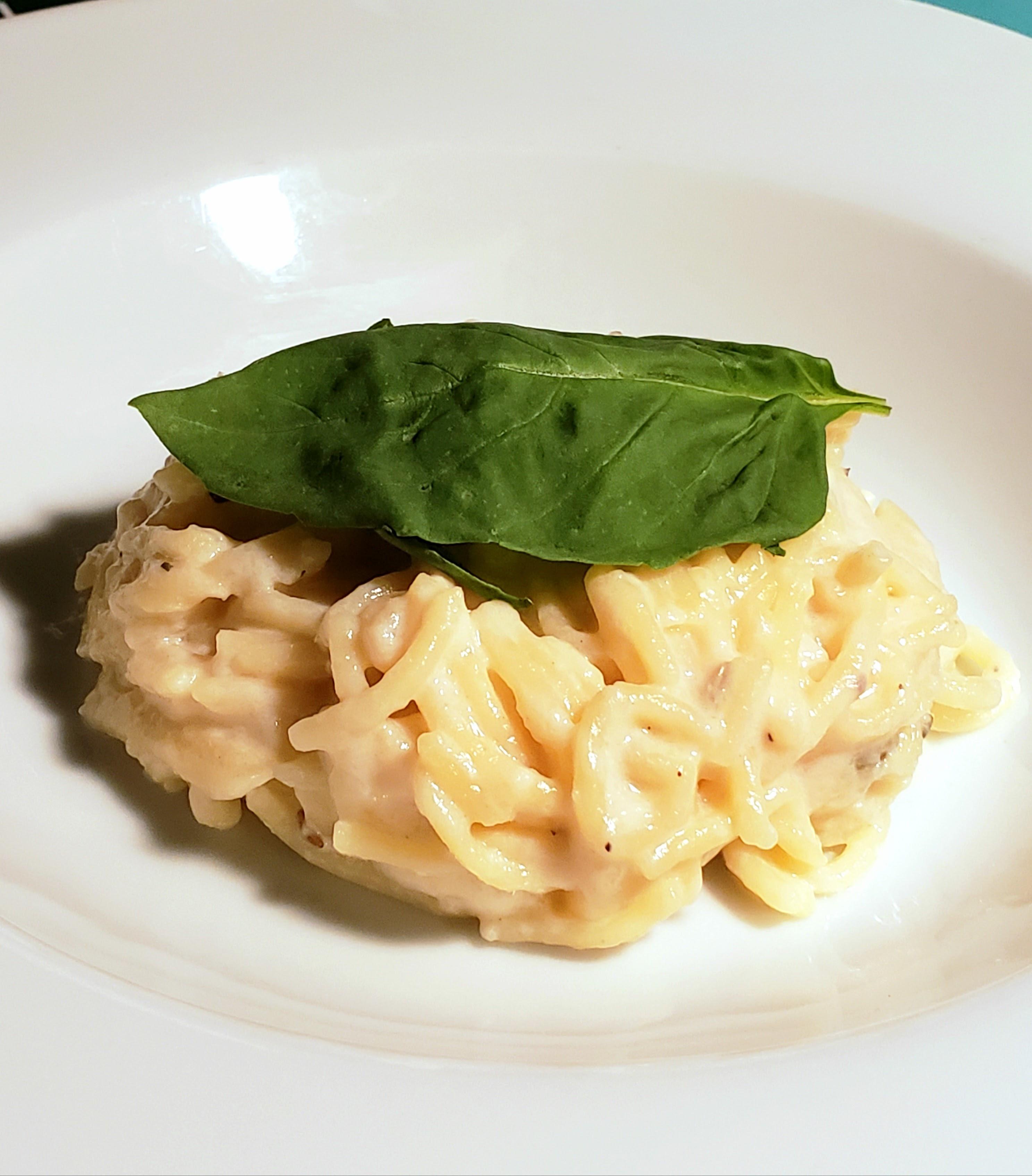 Gluten Free Spaghetti Alfredo