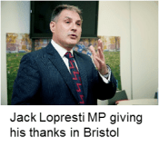 Jack Lopresti MP at our Bristol event