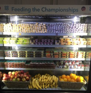 Co-op food for the runners
