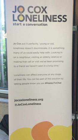 Banner displaying Jo Cox quote on loneliness
