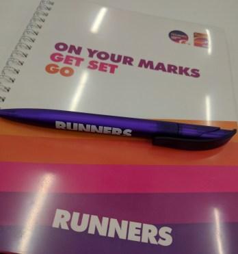 Runner Notepad