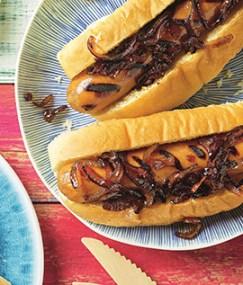Hot dog buns that came best three in BBC Good Food magazine taste test