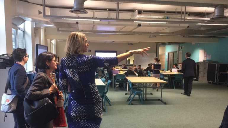 Open spaces at Co-op Academy Manchester