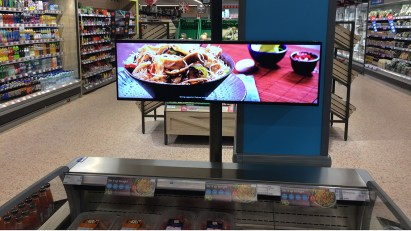 Meal solutions display in our Horbury store
