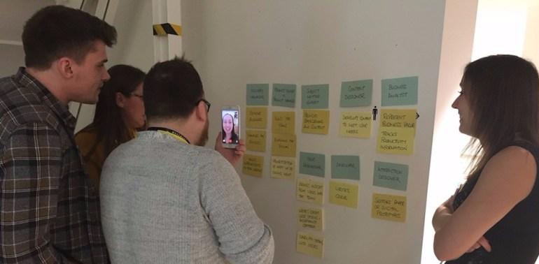 Colleagues attending Digital skills classes