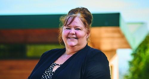 Branch Manager Andrea Godber