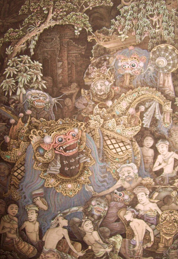 Balinese Artists and Paintings