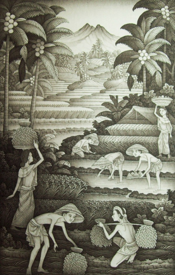 Balinese Artists Art Collections Travel